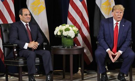 Sisi, Trump