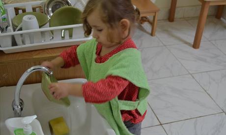 Children developing various skills