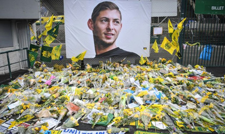Emiliano Sala died in a plane crash shortly after signing for Cardiff (AFP)