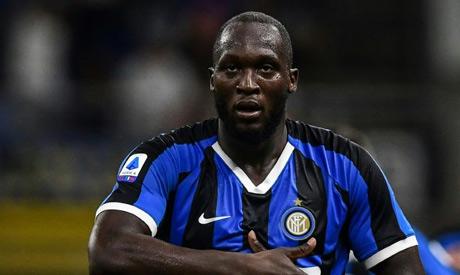 Inter Milan forward Romelu Lukaku (AFP)