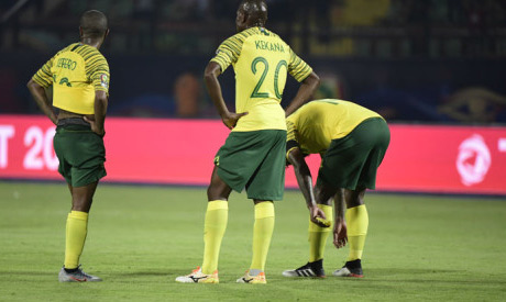 South Africa soccer national team (AFP)