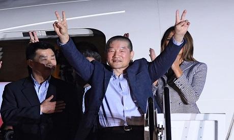 US detainee Kim Dong-chul