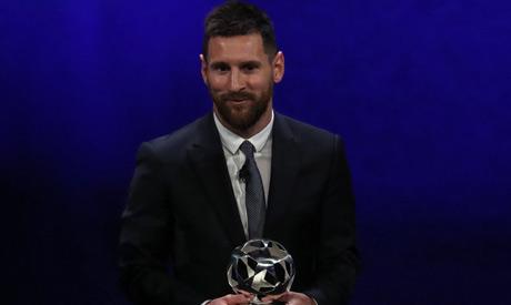 Argentinian forward Lionel Messi