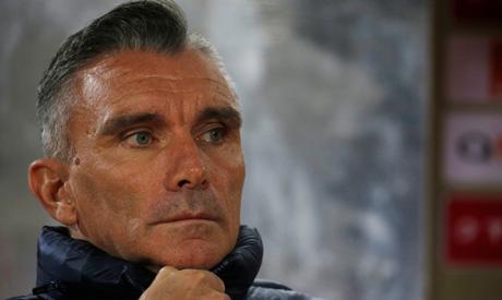 Zamalek coach Patrice Carteron