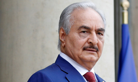 Libyan national army commander Khalifa Haftar (AFP)