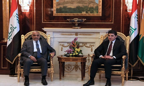 Nechirvan Barzani meets with Adil Abdul-Mahdi in Arbil