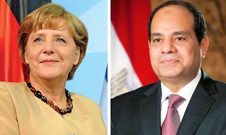 Merkel and Sisi