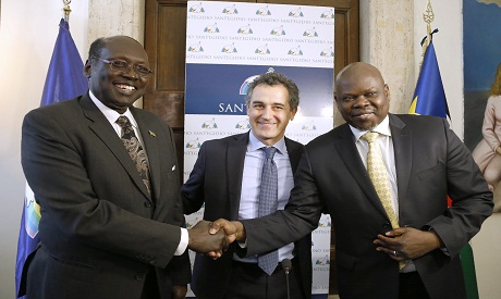 South Sudan Truce in Italy