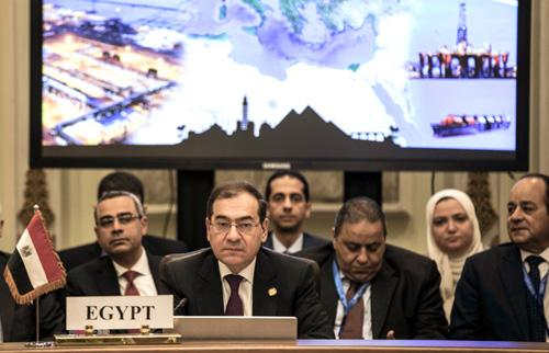 Egyptian Minister of Petroleum Tarek el-Molla