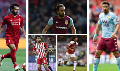 Egyptians players abroad