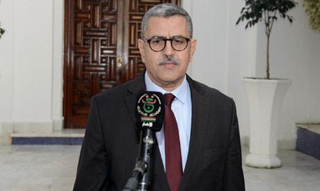 Algerian Prime Minister Abdelaziz Djerad (AFP)