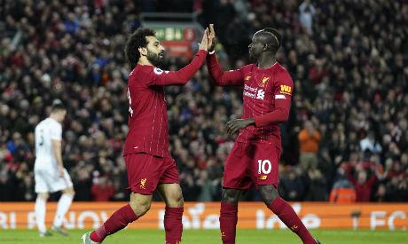Mohamed Salah, Sadio Mane