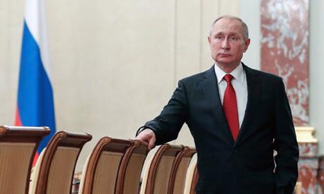 Russian President Vladimir Putin. (AP)