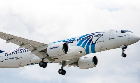 EgyptAir new Airbus A220-300