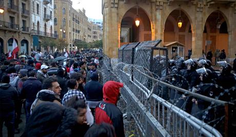 Lebanon slips into violence