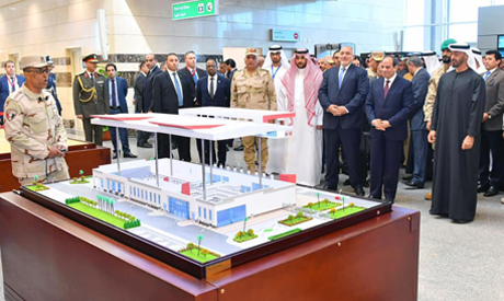 Egypt opens major military base