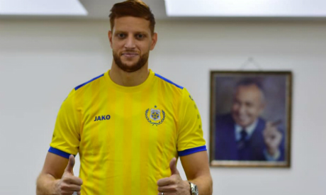 Tunisian striker Fakhreddine Ben Youssef