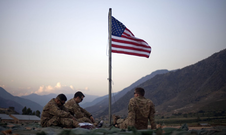 File photo: U.S. Army in Base Bostick in Kunar province, Afghanistan (AP)