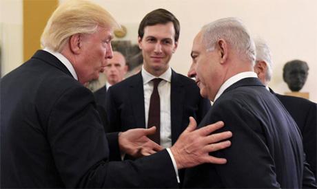 Netanyahu,Trump, Kushner
