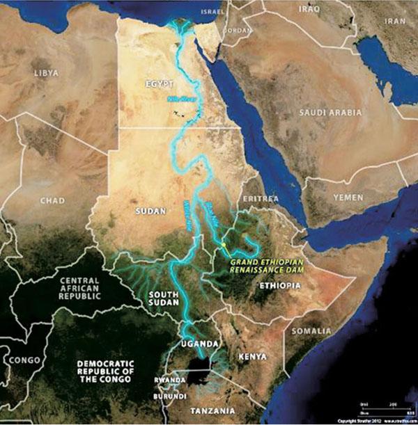Nile Basin countries