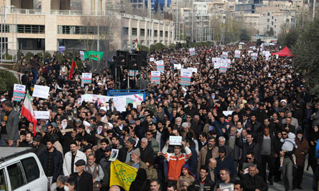 Iranians demonstrate