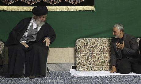 Soleimani and Khamenei