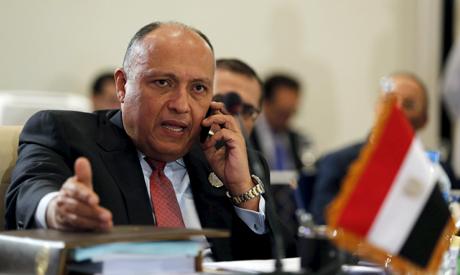 Egypt FM Shoukry