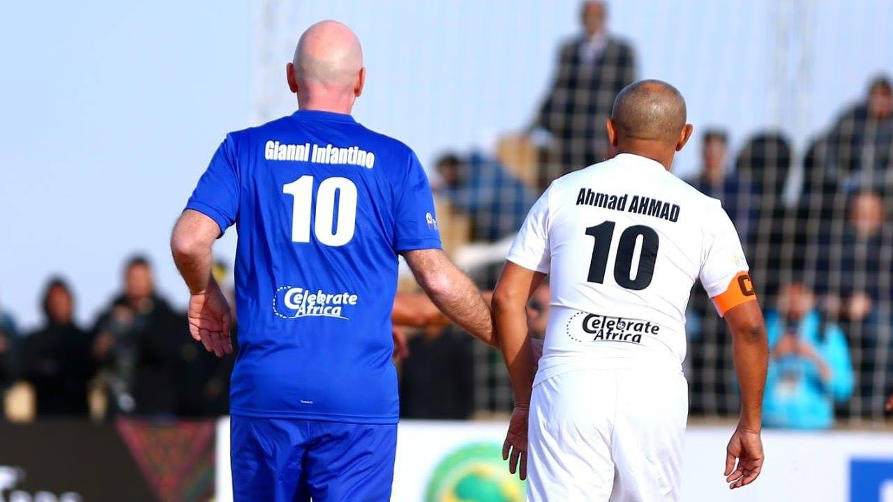 CAF and FIFA legends 10