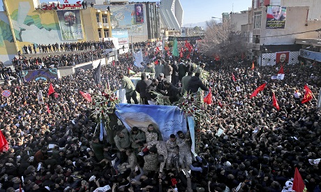 Funeral in Iran