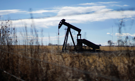 FILE PHOTO: An oil well is seen near Denver, Colorado February 2, 2015. (Reuters)