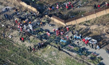 Ukrainian plane crashed in Iran