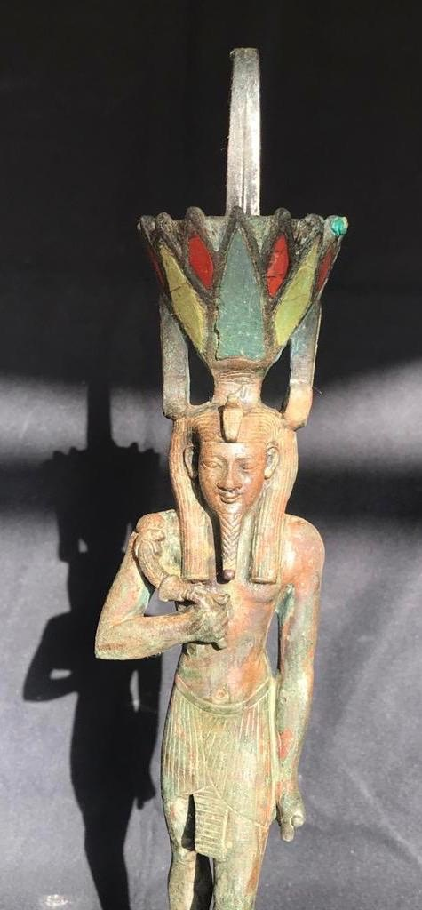 Statue of god Nefertum