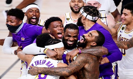 LA Lakers players