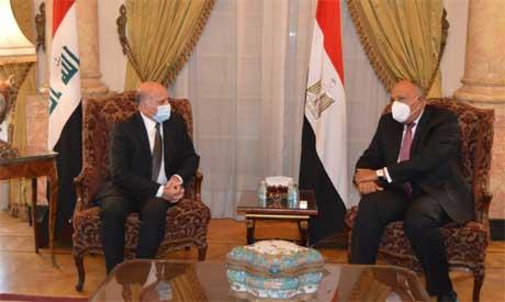 Egypt, Iraq FMs