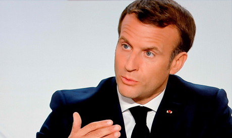 French President Emmanuel Macron AFP