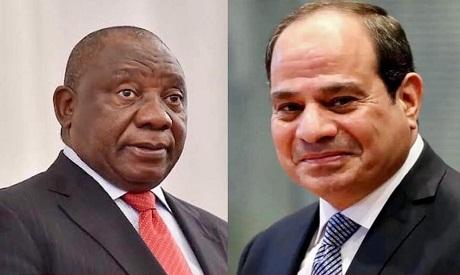 Ramaphosa and El-Sisi