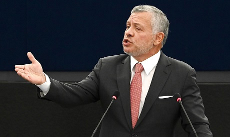 File Photo: Jordanian King Abdullah II. AFP