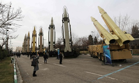 Iran military equipment exhibition AFP