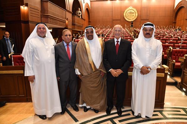Egypt's Senate members