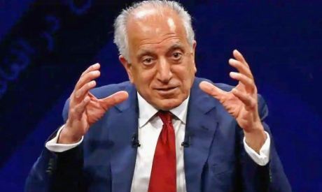 US envoy for peace in Afghanistan Zalmay Khalilzad. Reuters