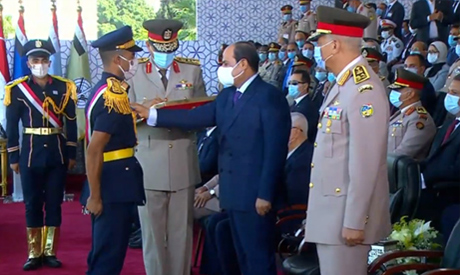Sisi - Army cadets graduation
