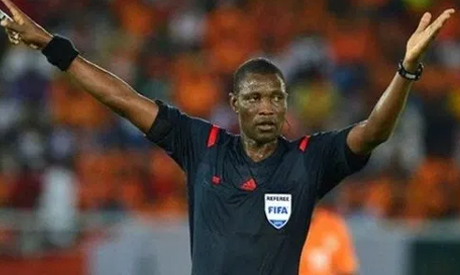 Cameroonian referee Allium Niant (Reuters)