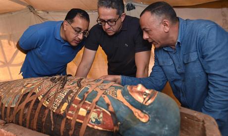 Fresh discoveries at Saqqara