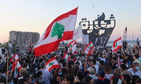 Beirut remembers the uprising