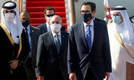 Israeli delegation arrived in Manama