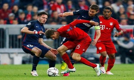 Bayern Munich v Atletico Madrid