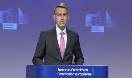 EU foreign policy spokesman Peter Stano