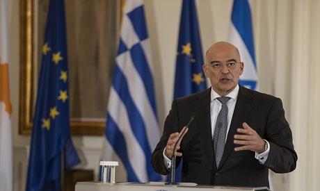 Greek FM Nikos Dendias
