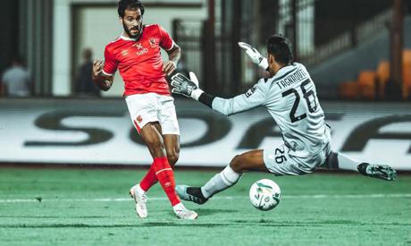 Ahly's Mohsen scoring