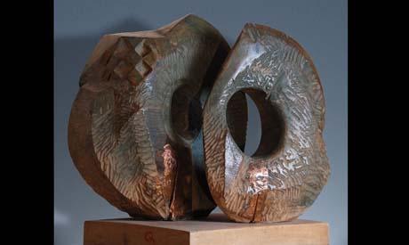 Art wood sculpture by Tarek Zabady